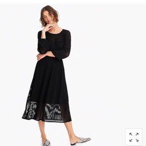 Jcrew ribbed midi sweater dress size L